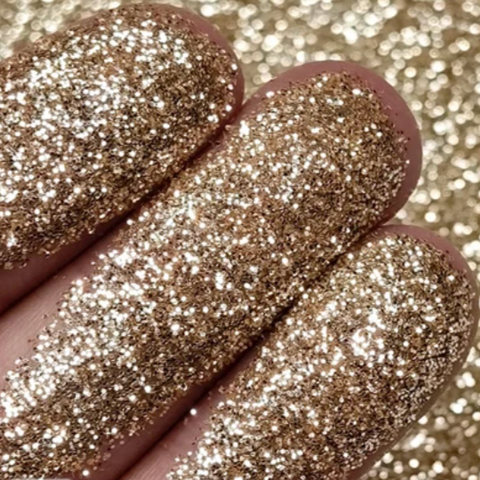 Luxurious Gold Fine Glitter