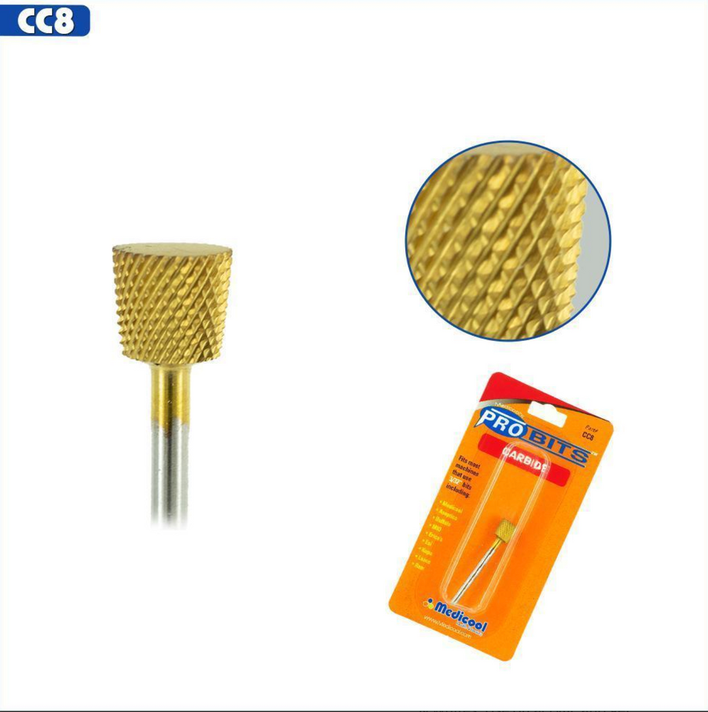 Pro Bits® Gold Carbide Backfill Bits Inverted