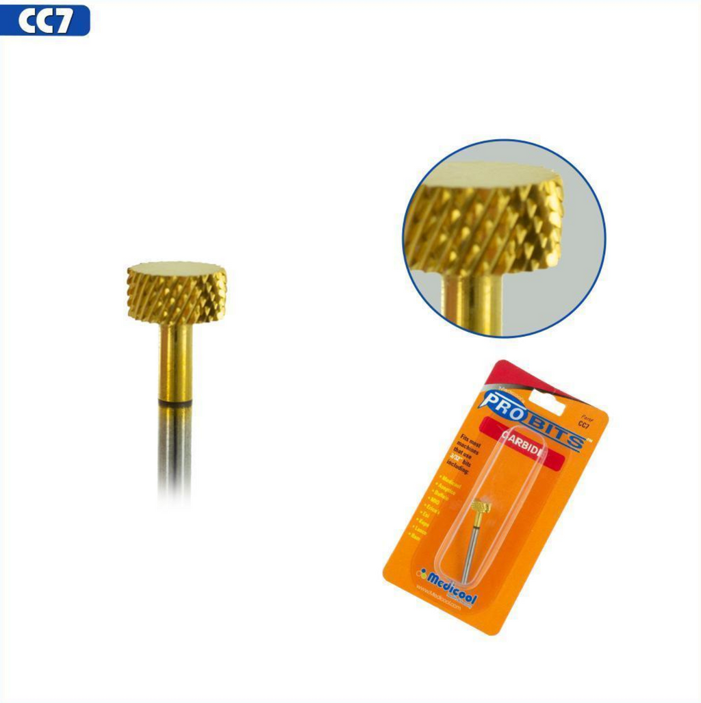 Pro Bits® Gold Carbide Backfill Bits Small