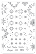 Let it Snow (CjSC-18) - Steel Stamping Plate