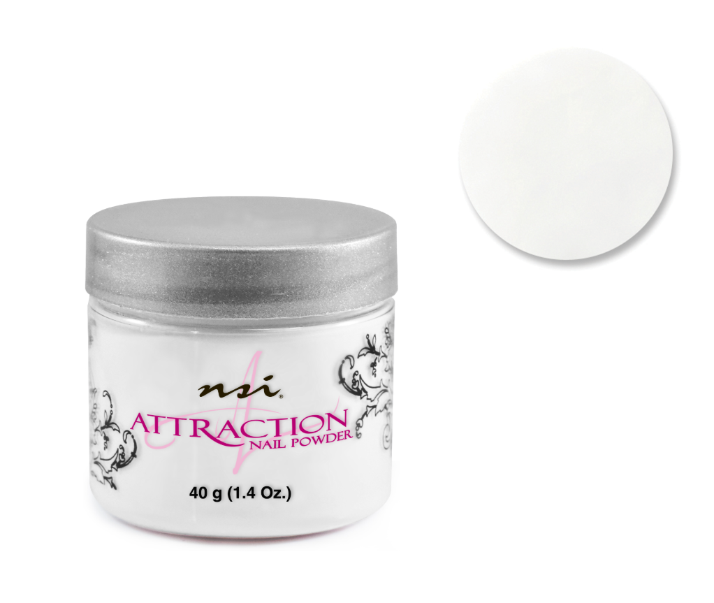 Attraction Acrylic Powder Radiant White 40g