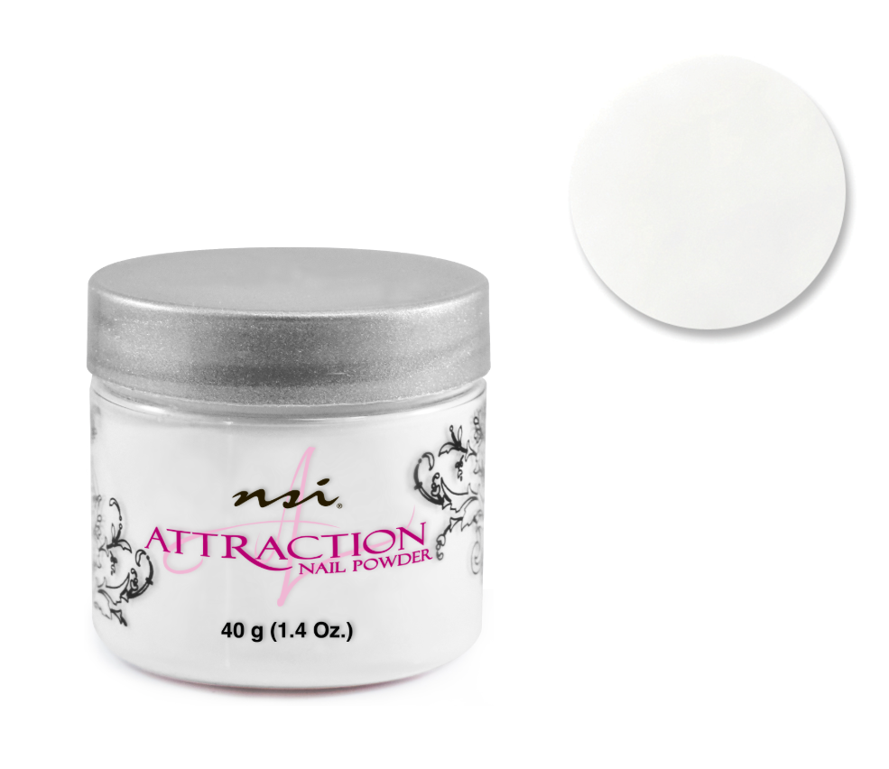 Attraction Acrylic Powder Pure White 40g