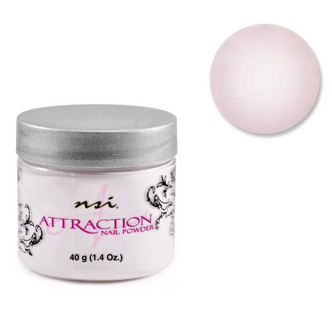 Attraction Acrylic Powder Sheer Pink 40g
