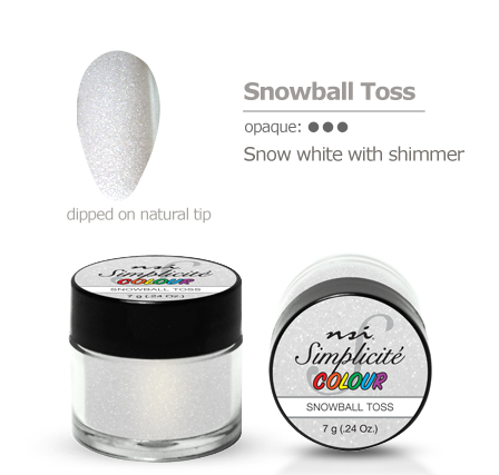 Simplicite' Dipping Powder Snowball Toss