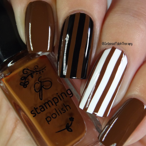 #31 You Had Me at Chocolate - Nail Stamping Color (5 Free Formula)