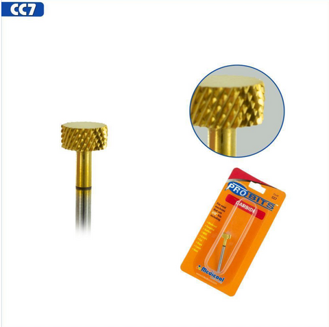 Pro Bits® Gold Carbide Backfill Bits Standard Size