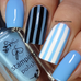 #73 Blue Bell - Nail Stamping Colour (5 Free Formula)