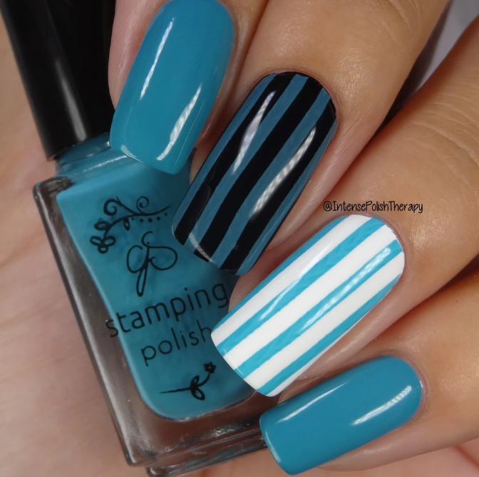 #85 Teal me off the Ceiling - Nail Stamping Colour (5 Free Formula)