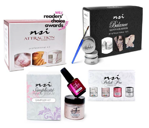 The full NSI Nail Technician Kit ∆