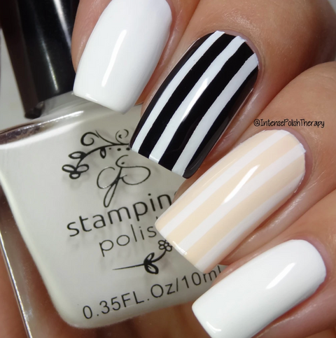 WHITE #2 Jennys Gonna Love it - Nail Stamping Colour (5 Free Formula) 10ml Bottle