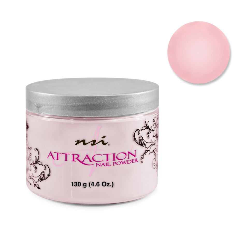 Attraction Acrylic Powder Extreme Pink 130g