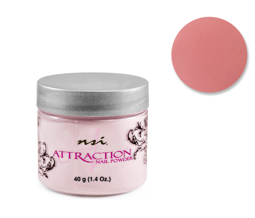 Attraction Acrylic Powder Purely Pink 40g