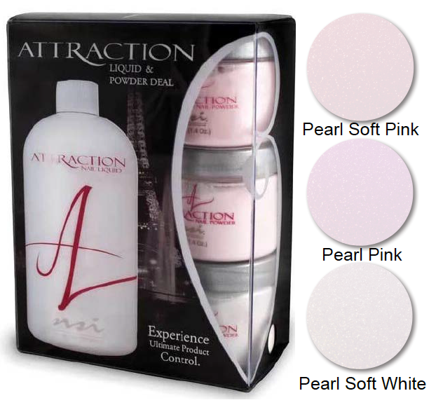 Attraction Perfectly Yummy Kit with the latest Pearl range ∆