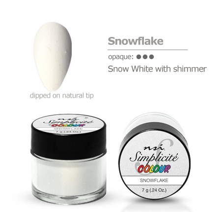 Simplicite' Dipping Powder Snowflake