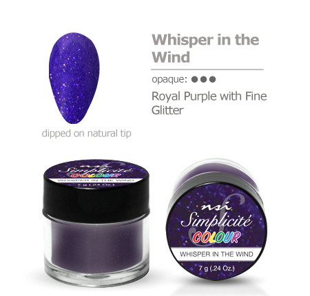 Simplicite' Dipping Powder Whisper in The Wind