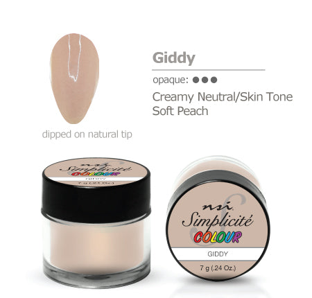 Simplicite' Dipping Powder Giddy