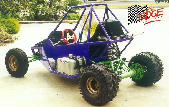 The Sidewinder Plus off road buggy