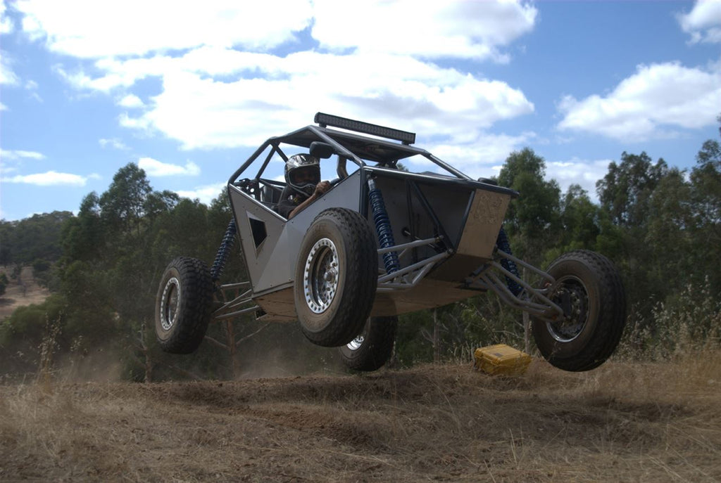 X2 off road buggy jump