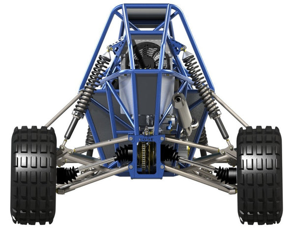 Barracuda Mk II off road buggy rear view