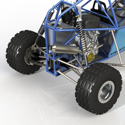 The Barracuda Mk II Off Road Buggy | The Edge Products