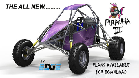 The Piranha III Off Road Buggy | The Edge Products