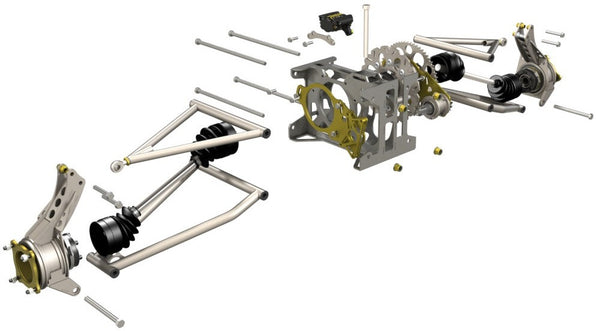 S1 rear suspension kit parts