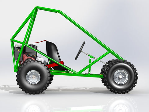 The Trax III Off Road Kart | The Edge Products