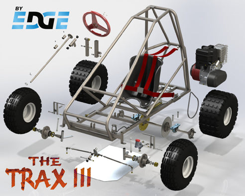 Trax III off road go kart kit