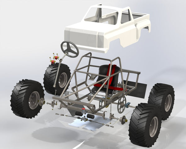 The Mini Monster Truck | The Edge Products