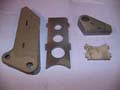 Suspension Upright Housing Plates