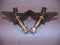 Front Stub Axles with caliper mounts (pair)