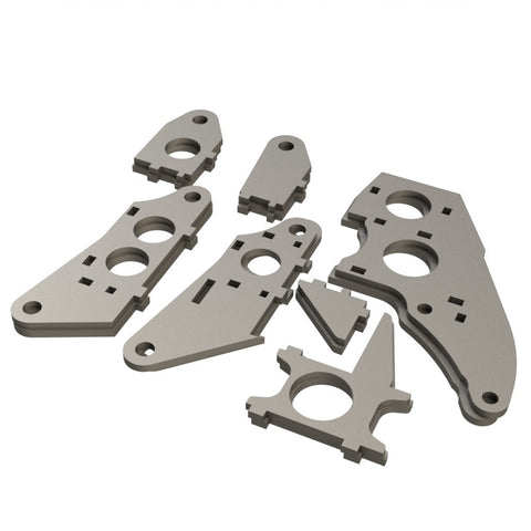Barracuda Mk II Front Upright Kit (Unwelded)
