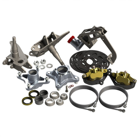 Upgrade front brake kit for Barracuda Mk I