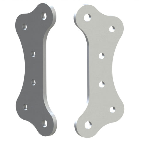 CV2 Upright caliper mount plates