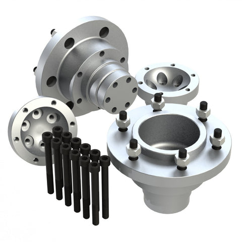 Wheel hub kit (hub rotor mounts)