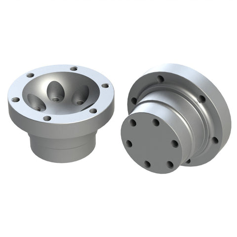 CV hubs for CV2 uprights