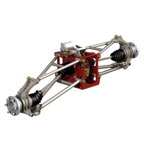 CV2 Rear Suspension Plans (Printed Book)