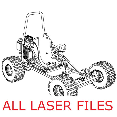 Fun Kart III Laser Files (All)