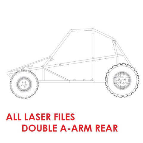 Piranha II All Laser Files (Double A-Arm Rear)