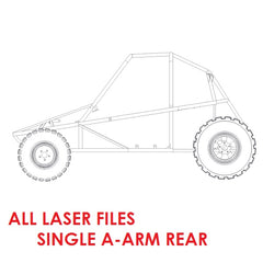 Piranha II All Laser Files (Single A-Arm Rear)