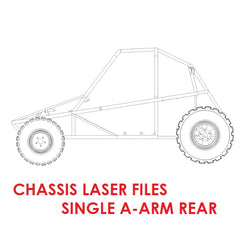 Piranha II Chassis Laser Files (Single A-Arm Rear)