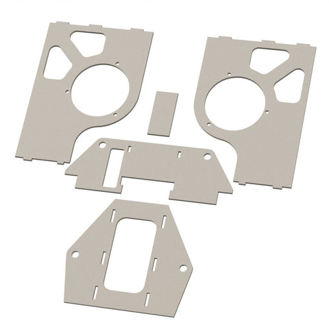 Piranha II rear housing plates (Single A-Arm)