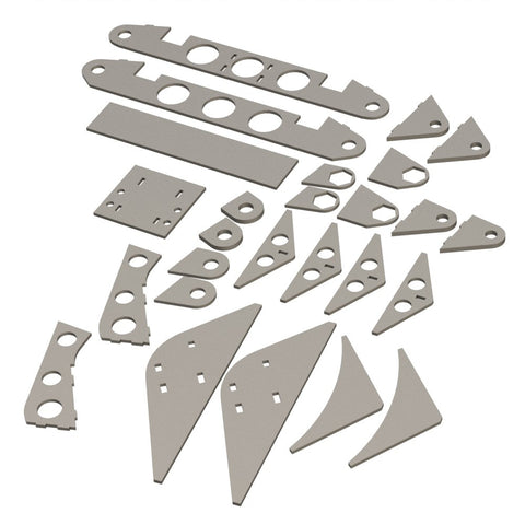 SW & PIR II DAA chassis modification plates