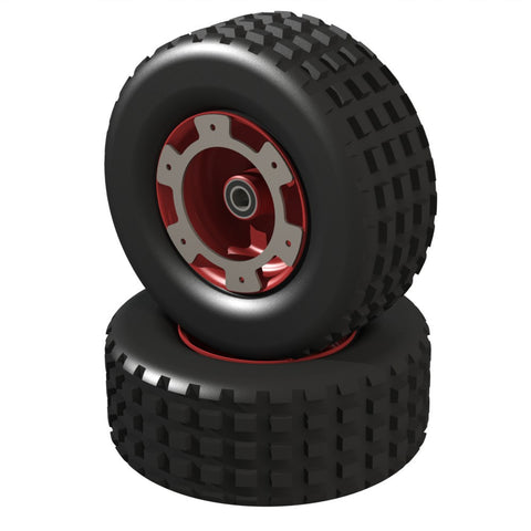 Raven Rear Wheels and Tyres (Pair)
