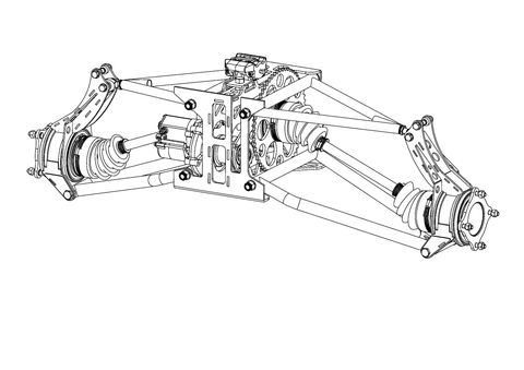 S1 Rear Suspension Plans (Printed Book)