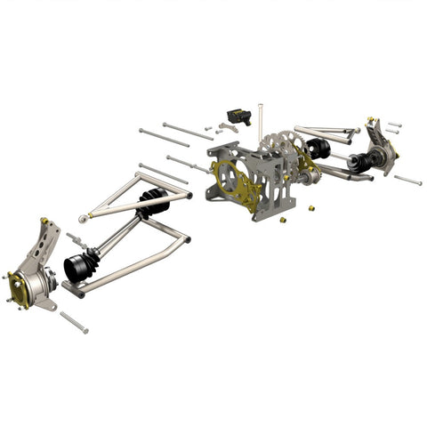 Complete S1 Rear Suspension Kitset for Piranha III