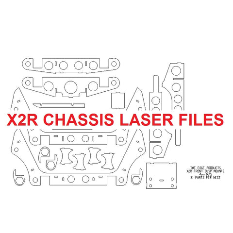 X2R Chassis Laser Files