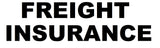 Freight Insurance $6250 - $6500