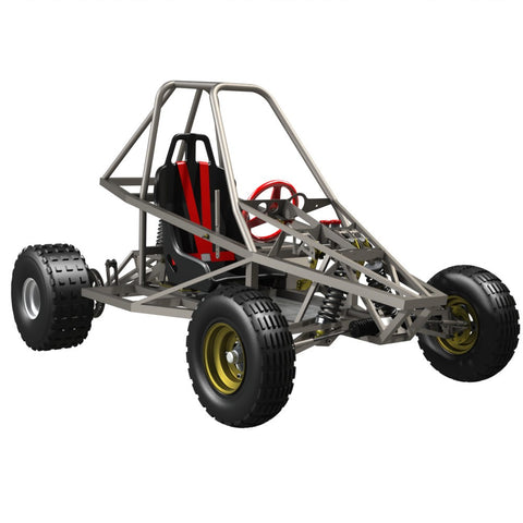 Sidewinder Rolling Chassis Kitset (with Front Brakes)