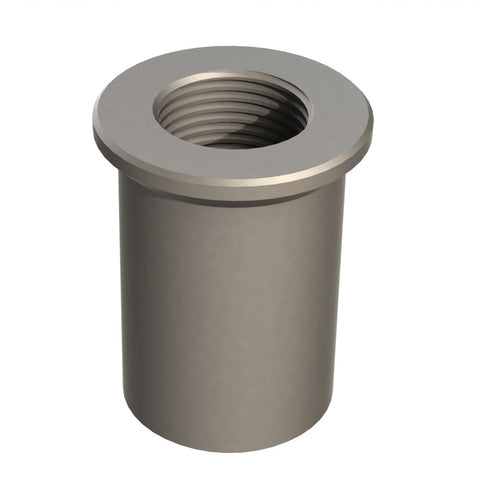 "Threaded Insert 5/8"" UNF for 25NBx2.6 Pipe"